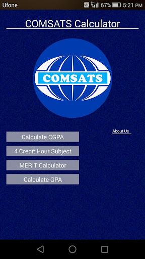 COMSATS Calculator Ciit
