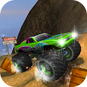 Toy Car Racing Dirt Truck Rally