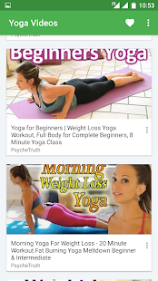 Yoga Daily Weight Loss Training For Beginners