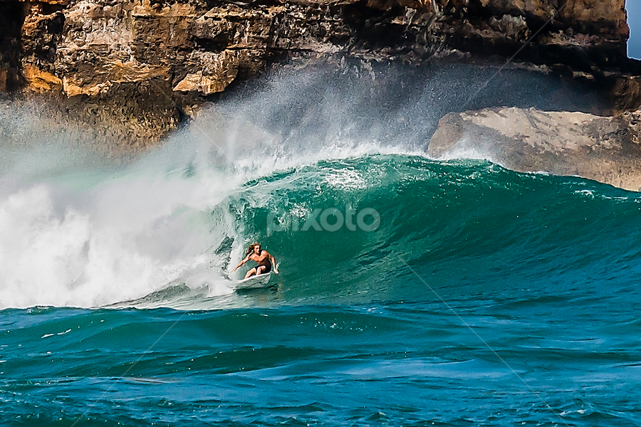 Wave rider by Erwin Sutarko - Sports & Fitness Surfing ( extreme sports, surfing, surfer, indonesia tourism, sports, beach, surf )