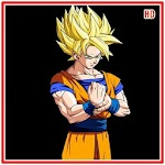 Goku Super Saiyan God HD Wallpaper Icon