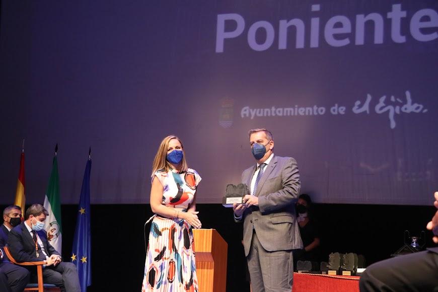 El Hospital de Poniente recibió un galardón.