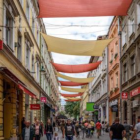 by Dusan Arezina - City,  Street & Park  Street Scenes