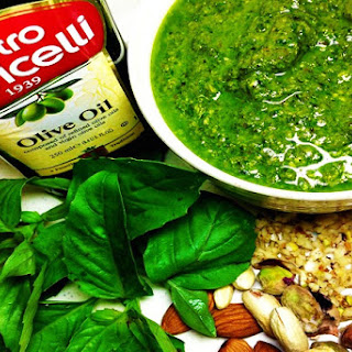 Pesto Sauce 	( Imperial Measurements )