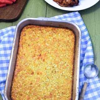 Corn Pudding (From Scratch with Fresh Corn)