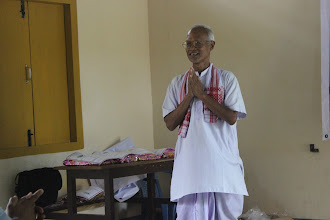 Photo: Shri Nitai Rabha, awesome orator and a noted artist from Agia