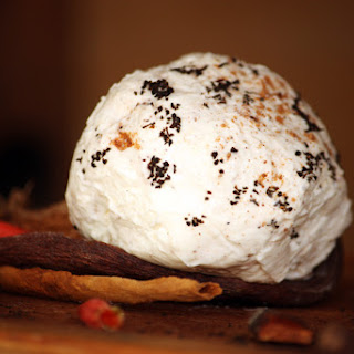 Cheese Ball with Spiced Apricots.