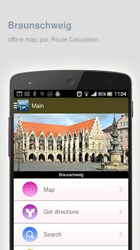 Braunschweig Map offline