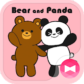 Cute Wallpaper Bear and Panda Theme