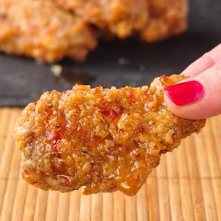 Crispy Sweet Spicy Sticky Wings Recipe