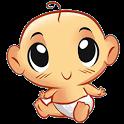 Новорожденный малыш icon