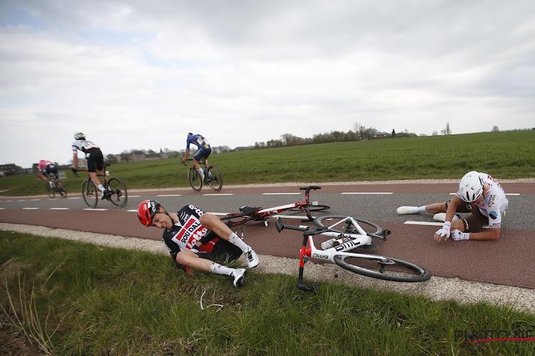 23-jarige Belg van Lotto heeft geen breuken opgelopen bij val in Amstel Gold Race