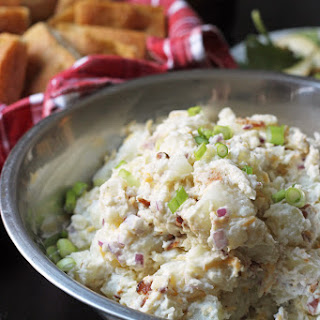 Loaded Potato Salad with Greek Yogurt and Cheddar Recipe