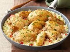 Margarita Chicken & Rice Skillet Recipe