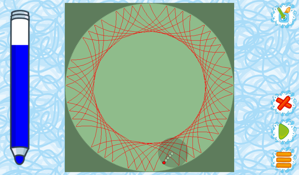 Rolling Graph- screenshot