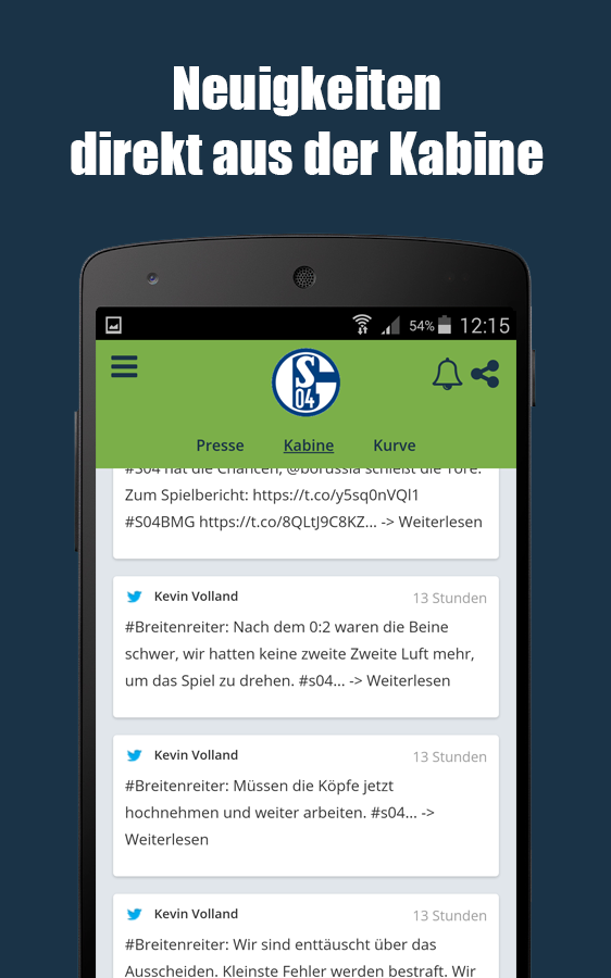 live fussball app android