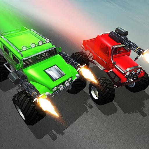 赛车游戏のキル以上モンスターレーシング LOGO-記事Game