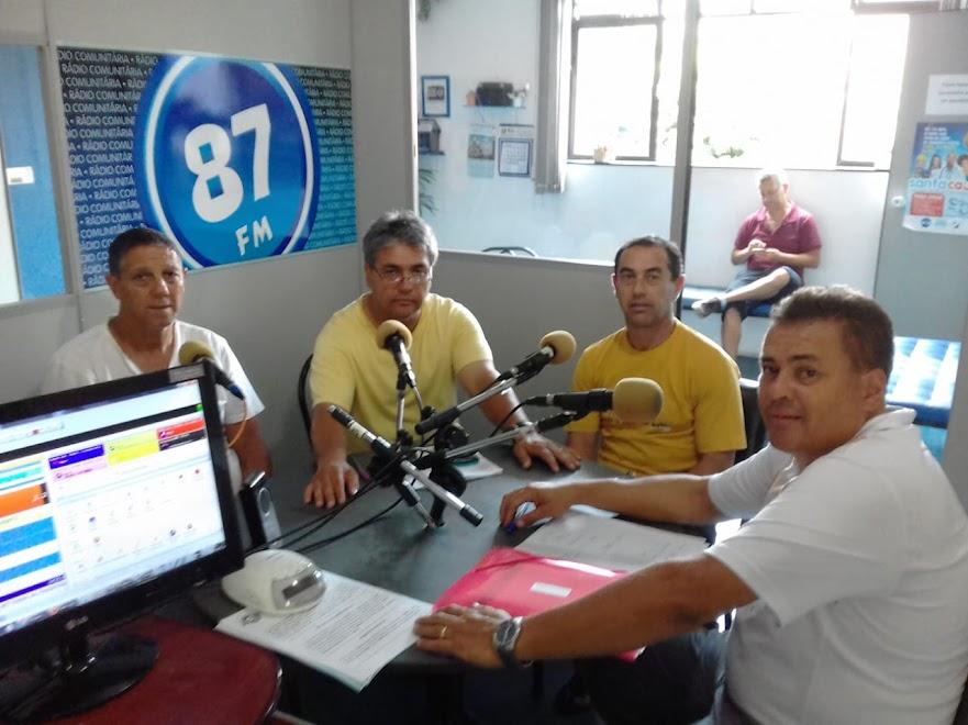 Celso Perocco, Donacio Silva, Euzébio Amaral e Sergio Borges