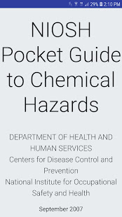 NIOSH Mobile Pocket Guide for PC-Windows 7,8,10 and Mac apk screenshot 5