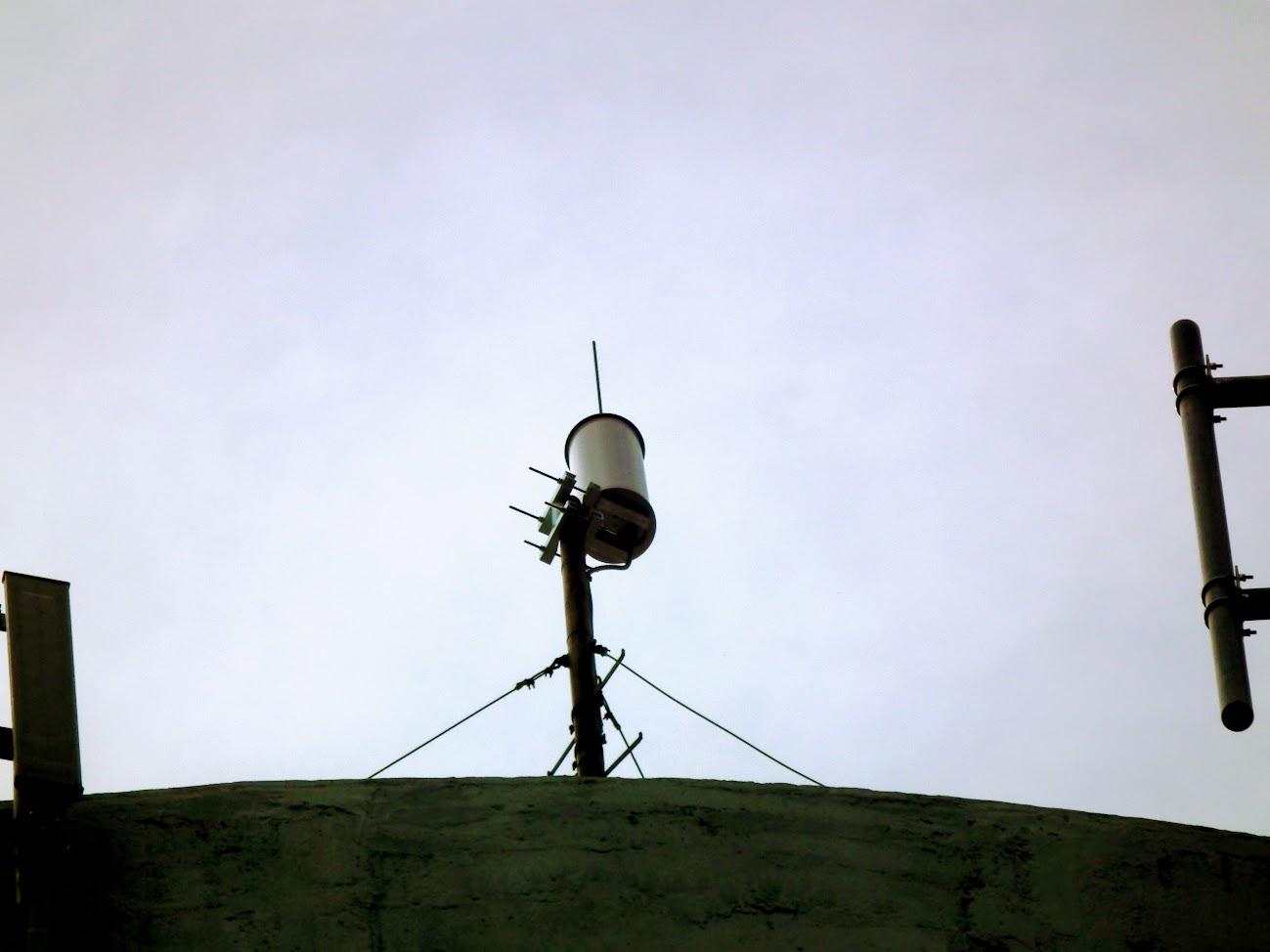 Gyula/Göndöcs-kert, víztorony - helyi DVB-T adóállomás