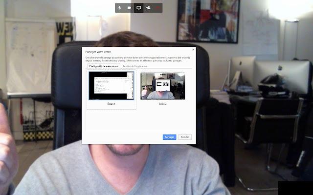 meeting Acweb desktop sharing