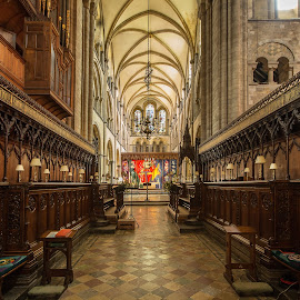 Chichester Cathedral. by Simon Page - Buildings & Architecture Places of Worship