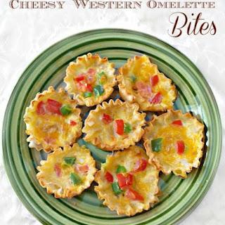 Fifteen Minute Western Omelette Bites