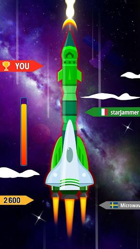 Télécharger Rocket Blue: Flying! mod apk screenshots 4