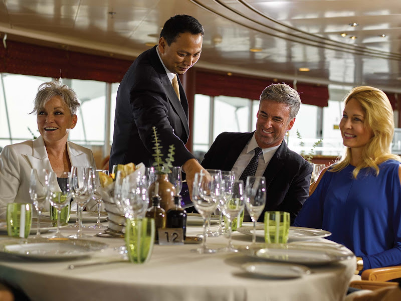 Head to La Terrazza on your Silversea cruise for authentic Italian cuisine prepared with flair and passion.