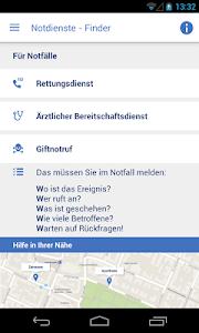 Notdienste-Finder Bayern screenshot 1