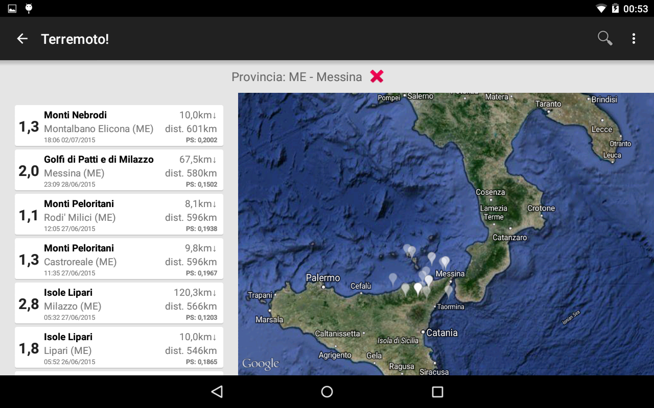 Terremoto!- screenshot