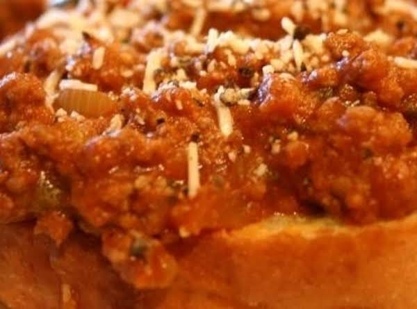 Coca Cola Sloppy Joes On Garlic Toast Recipe
