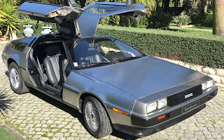 Delorean DMC-12 Rent Lisboa (Lisabon)