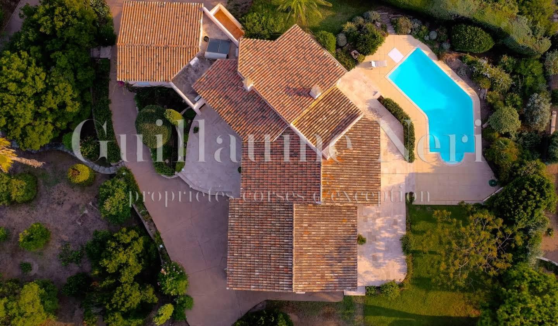 Villa avec piscine et terrasse Pietrosella