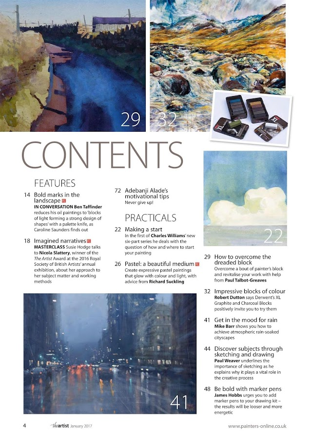 The Artist Magazine- screenshot