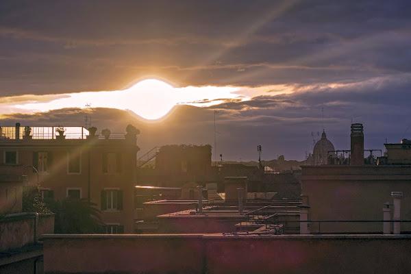tramonto romano di lugiube