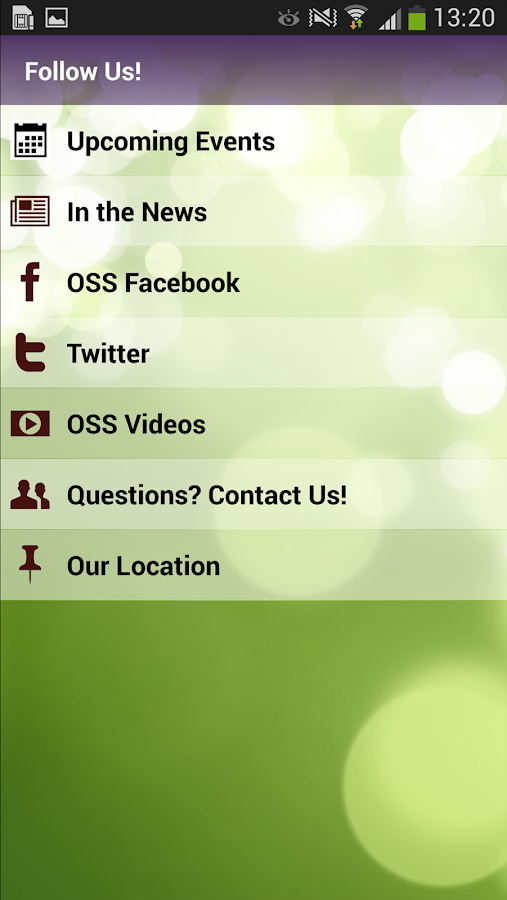 Office for Science & Society- screenshot