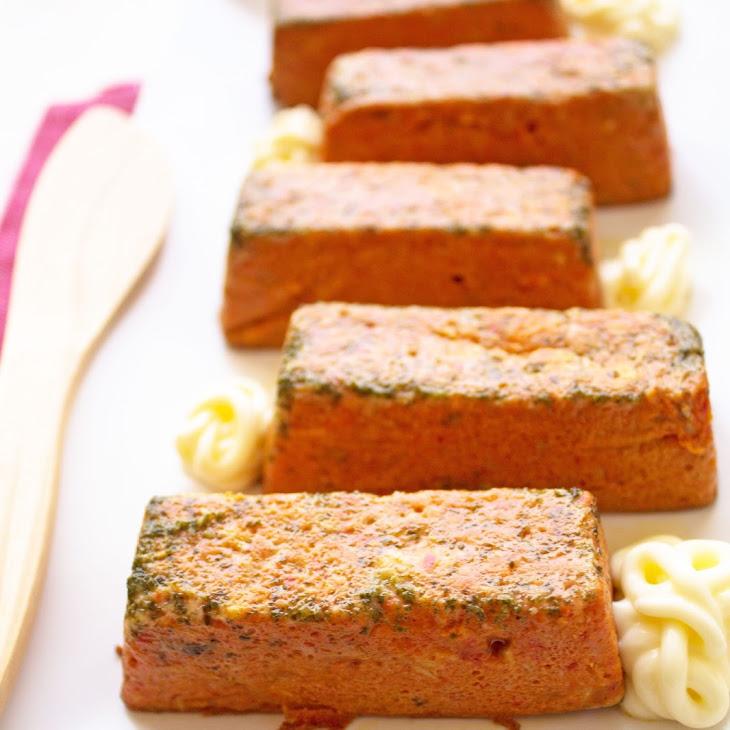 Mini Tuna and Pepper Cakes Recipe