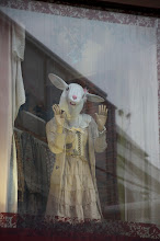 Photo: I don't know if this rabbit is late, but she certainly looks like she wants to leave Harajuku! #daveinjapan