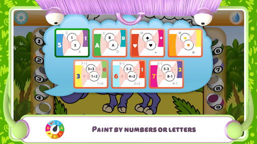 Paint by Numbers - Dinosaurs 2.2 screenshots 7