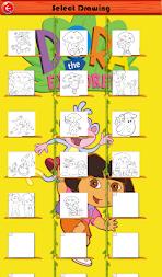 Coloringbook Princesse Dora Fans APK Screenshot Thumbnail 2