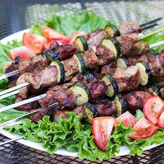 Pork Kebabs (Russian Pork Shashlik).