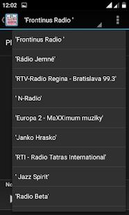 Slovakia Radio Stations - náhled
