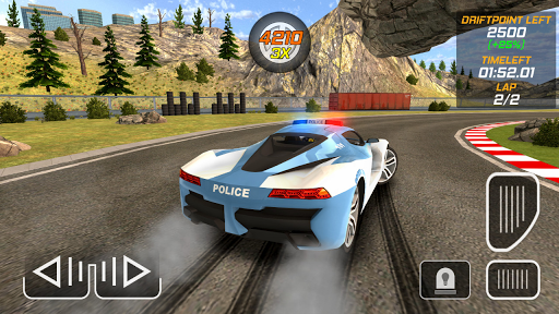 Police Drift Car Driving Simulator 1 screenshots 5