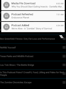 Audio Book Podcast Player- screenshot thumbnail