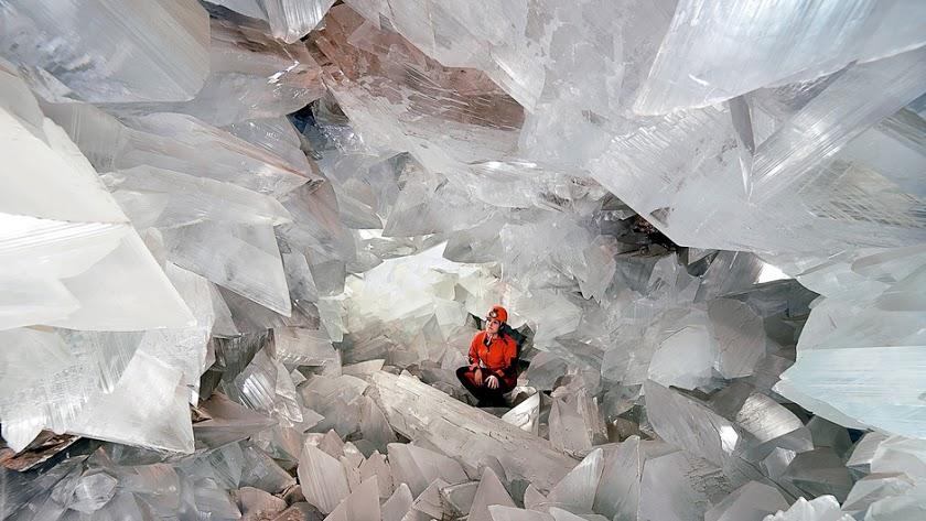 La Geoda de Pulpí es una auténtica maravilla natural.