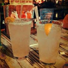 Photo: Our dinnertime drinks!