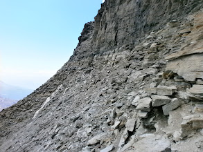 Photo: passage en rocher très bonne qualité ... à la tête du lion.