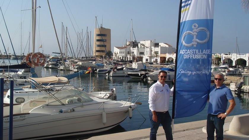 Alianza náutica Accastillage-diffusion, es una red de tiendas náuticas ahora con nueva sede en el Puerto Deportivo de Aguadulce.