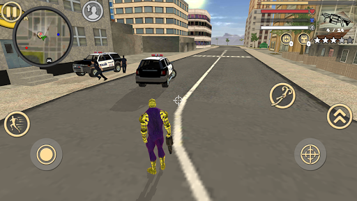 Spider Rope Hero Frog Strange Ninja Gangster Crime 1.0 screenshots 9